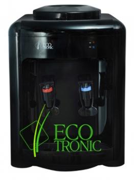 Кулер настольного типа Ecotronic H2-TE Black, электронное охлаждение, черный глянец