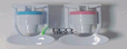 ECOTRONIC Кран холодный H1-L White внутр.резьба