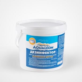 Дезинфектор МСХ КД (медленный стабилизирующий хлор комплексного действия) в таблетках по 200г-3 кг