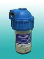 AquaKut MIGNON 3P 5 (солевой угловой) - фильтр полифосфатный для котла ,бойлера, колонки